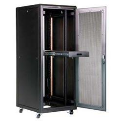 "E Series Enclosure, 72""H x 29""W x 36"", 37 RMU, RoHS, Black, Advantage White, or Nitro Blue"