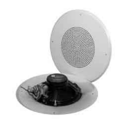 """8C5PAX - un 8"""" O.D. haut-parleur, BR8W TBLU - un transformateur 5 W-25/70 V, - un déflecteur rond"""