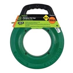 Fishtape, Fiberglass-.175 in. X 100 ft.