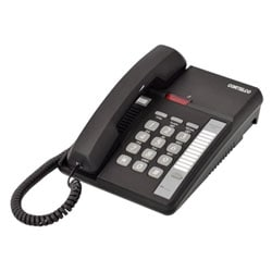 Cortelco Centurion Basic Telephone in Black