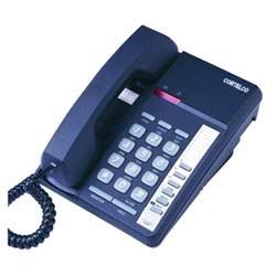 Cortelco centurion mémoire téléphone avec prise modem dans la cendre