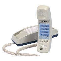 Cortelco Trendline monoligne à cordon téléphonique en noir