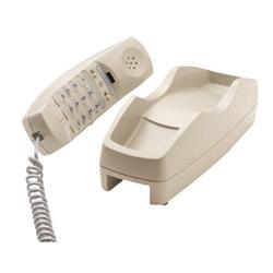 Cortelco téléphone jetable des soins de santé avec 3,5mm Jack