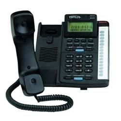 Cortelco collègue amélioré Disposition Plus téléphone avec identification de l'appelant en noir