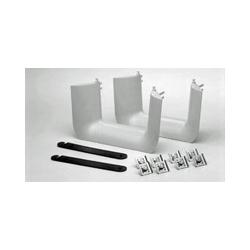 FiberGuide Fiber Management Systems; FiberGuide Product Line System: 4x6 System Downspout Type: Dual Trumpet Color: Yellow