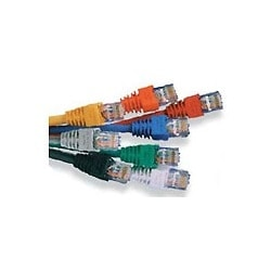 Cable Assembly Mod 24 AWG 4-Pair Stranded Category 5E T568A/B 15 ft. Green