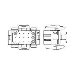 Splice Kit, 300 V, Copper, Aluminum Wire Range: 2.05 mm,2.59 mm, 14 - 10 AWG, 2.08 - 5.26 mm2, 4107 - 10383 CMA, Operating Temperature Range: 90 C