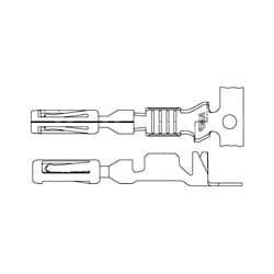 AMPSEAL et AMPSEAL 16 connecteur système; AMPSEAL gamme de produits s'applique au Type de Contact Contact fil/câble : Méthode de résiliation Socket Crimp