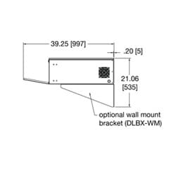 Wall Mount Kit For Dlbx