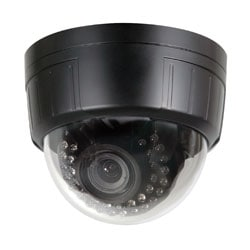 Intense IR Dome Camera, DC Auto Iris VF Lens 4mm-9mm