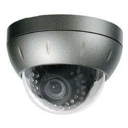 Intense IR Vandal Dome Camera, DC Auto Iris VF Lens 4mm-9mm