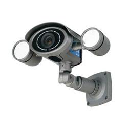 Day/Night Weatherproof Bullet Camera 2.8-12 mm Vari-focal Lens, with Digital Noise Reduction