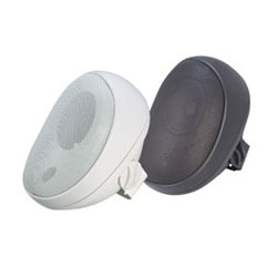 4 in. Outdoor Speaker with Transformer - White (each)