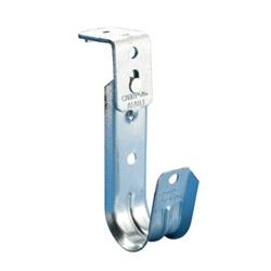 """4"""" Diameter J-Hook with angle bracket, 3/16"""" hole"""