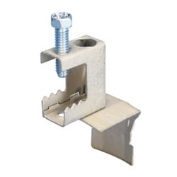 """nVent CADDY Cat HP J-Hook Clip to BC Beam Clamp, Swivel, 1/8""""-1/2"""" Flange"""