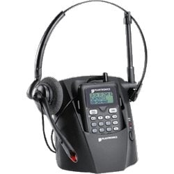 2.4GHZ DSS CORDLESS HEADSET WITH BASE, REMOTE & HEADSET CALLER ID & IN-USE