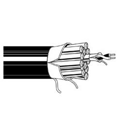Multi-Conductor - Multi-Pair Snake Cable 2 26 AWG FHDPE FSPR PVC FS PVC VIO Z4B