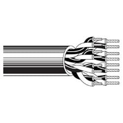 Multi-Conductor - Audio, Control and Instrumentation Cable 15-Pair 20 AWG PVC PVC Chrome