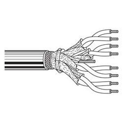 Multi-Conductor - 10Base 5 Transceiver 124 AWG,328 AWG SHPR PP SH PVC Gray, Light Dec