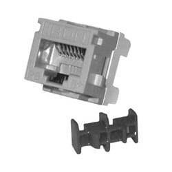 ax101066 belden cat6 modular jack, anixter cat 6 modular jack cat6 modular jack, rj45, mdvo style, black