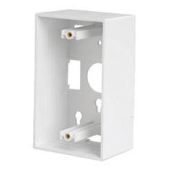 Boîte de KeyConnect dos, encastré, 1,89 en blanc