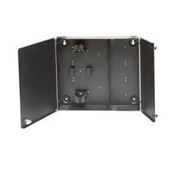 FiberExpress Ultra Wall mount Patch Panel, noir (vide)
