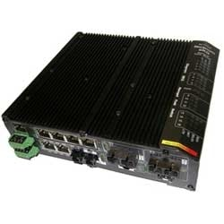 INDUSTRIAL SWITCH 4 10/100    BASE TX  PORTS UP 16 PORT MAX ADDING MODULES