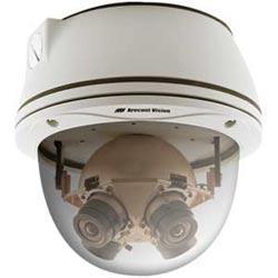 Mégapixels 20 360º IP panoramique, 3,5 images par seconde, jour/nuit, 3,5 mm f/1,8 IR objectif