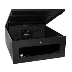 Verrouiller la boîte, horizontale pour Top ou magnétoscopes de grande taille de chargement frontal. Tablette amovible. 120 V AC
