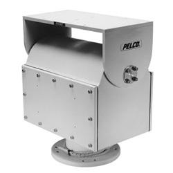 Anti-déflagrant extérieure Pan/Tilt. Poids lourds avec butées internes. NEMA 4 x évalué. Fonctionnement vertical ou inversé. Charge maximale lb 100 120 V AC