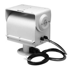 Camionnettes Pan/Tilt. Précâblé pour vidéo, boîtier électrique, alimentation caméra, objectif Zoom. Fonctionnement vertical ou inversé. Charge maximale lb 50 24 V AC