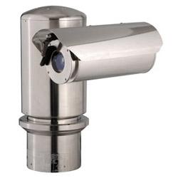 Systèmes de caméra preuve exsite explosions : Pan/Tilt avec enceinte intégrée et essuie-glace