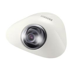 """Caméra dôme plat analogique, 1/3"""" CCD, 600 lignes, fixée objectif (3 mm), électronique D/N, 12 V DC, Flush Mount"""