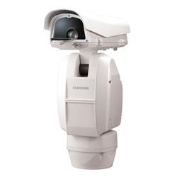 """Objectif analogique positionnement système caméra, 1/4"""" CCD, 600 TVL, Zoom optique x 37 (3,5-129,5 mm), vrai D/N, 360º Pan sans fin, - 85 ~ 40º Tilt, 24 V AC, IP66"""