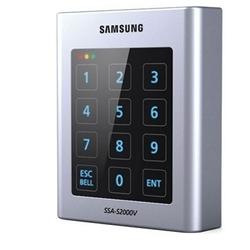 Accéder à contrôle, contrôleur autonome, simple porte, clavier & RF, résistant au vandalisme, Samsung Format 125 KHz