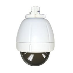 """7"""" Indoor Vandal-resistant Housing, Pendant Mount for SNC-RX, RH and RS Series and SNC-RZ25N, No Electronics, Tinted Dome"""