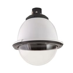 "7"" Outdoor Pressurized Pendant Housing with H/B for SNC-RX, RH, RS and SNC-RZ25N, AC 24V, Clear Dome"
