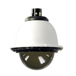 "7"" Outdoor Pressurized Pendant Housing with H/B for SNC-RX, RH, RS and SNC-RZ25N, AC 24V, Tinted Dome"