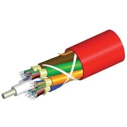 Plenum Distribution Cable, 48 fiber multi-unit with 12 fiber subunits