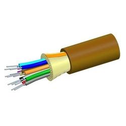 Câble de distribution plénum, 4 fibres unitaires