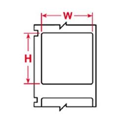 Application : Usage général haute performance étiquettes, étiquettes à code-barres et dessus du circuit imprimé et l'identification de l'IC.
