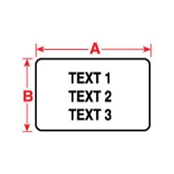 BradyBondz(TM) étiquettes pour le TLS 2200 & TLS PC Link(TM) Thermal Transfer imprimantes portables.