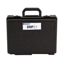 Protéger votre imprimante d'étiquettes Portable BMP (TM) 21 avec ce côté dur pratique housse de transport.