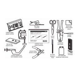 Optimax amélioré Installation Tool Kit, Compatible LC/SC/ST