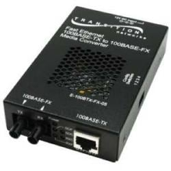 100BASE-TX RJ45 to 100BASE-FX, 1310 nm, single-mode, SC, 40 km
