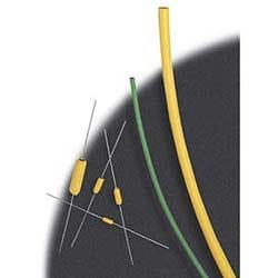 """Chaleur de polyoléfine réticulée à paroi fine gaine thermorétractable; 1000' bobine; 1/8"""" diamètre; Blanc"""