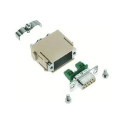 Han-Modular Modules : Module Sub-D profibus double collier de serrage