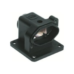 Han HPR Housings: Han 3 HPR angled housing M20