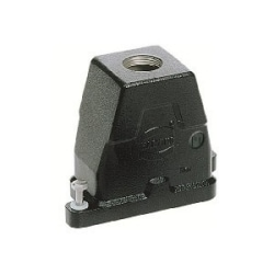 Han HPR Hoods: Han 6 HPR Hood Top Entry M25 Screw loc