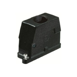Han HPR Hoods: Han 10HPR Hood Top Entry M32 Screw lock
